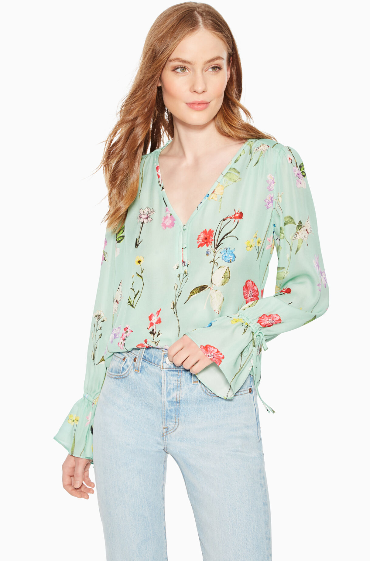 Cassidy Floral Blouse