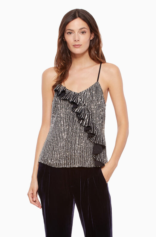 Justine Top - Silver