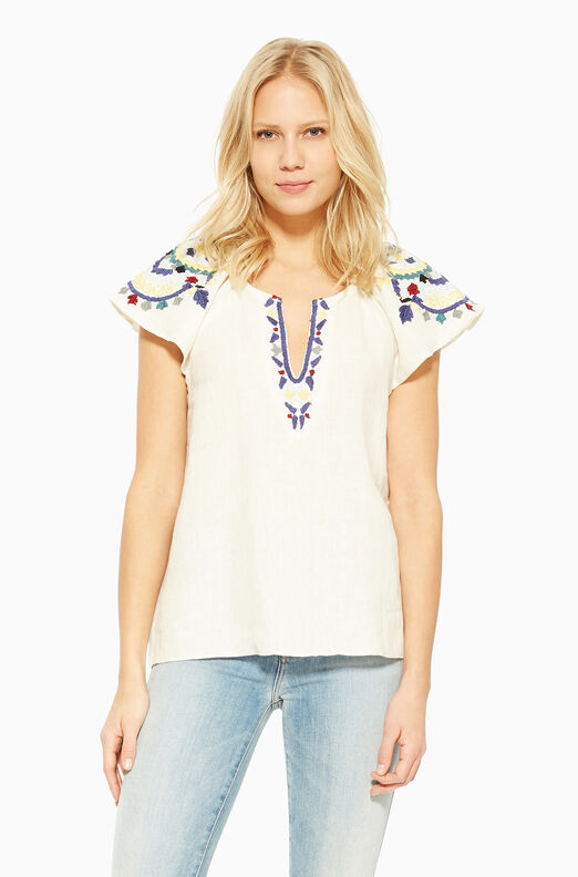 Valerie Top - White