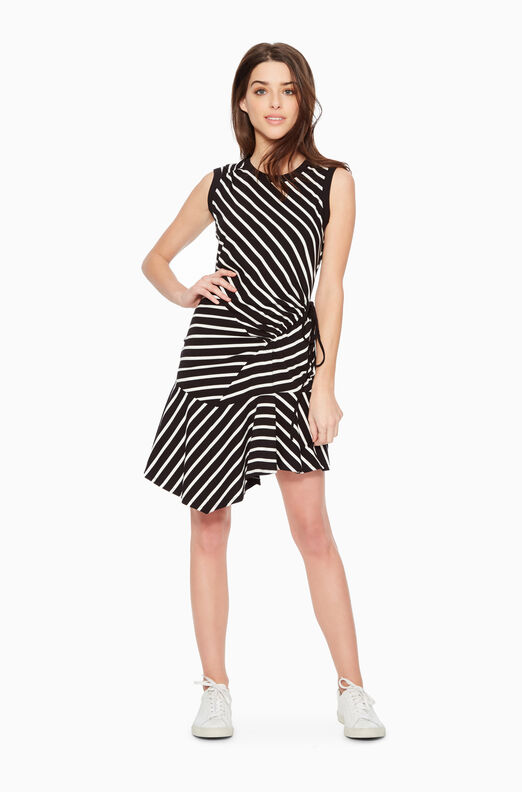 Nicola Striped Dress