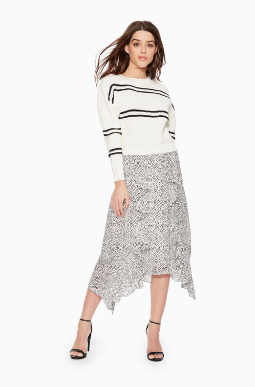 Laine Animal Print Skirt