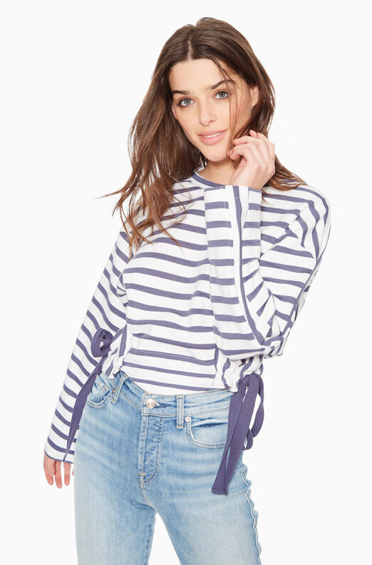 C9B5161TSJ-Navy Stripe