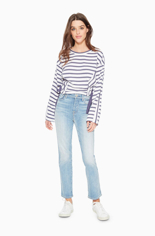 Yolanda Striped Sweatshirt