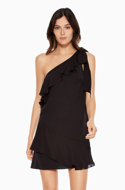 Eden Combo Dress - Black