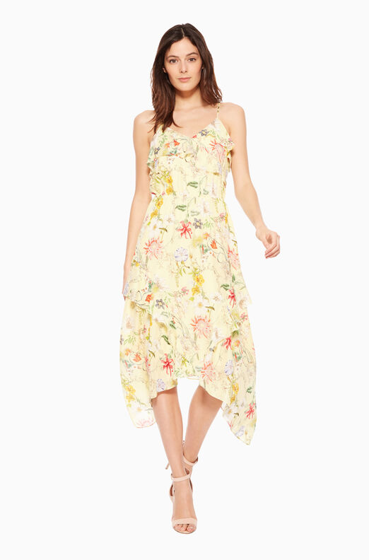 Vanna Dress - Spring Sangria
