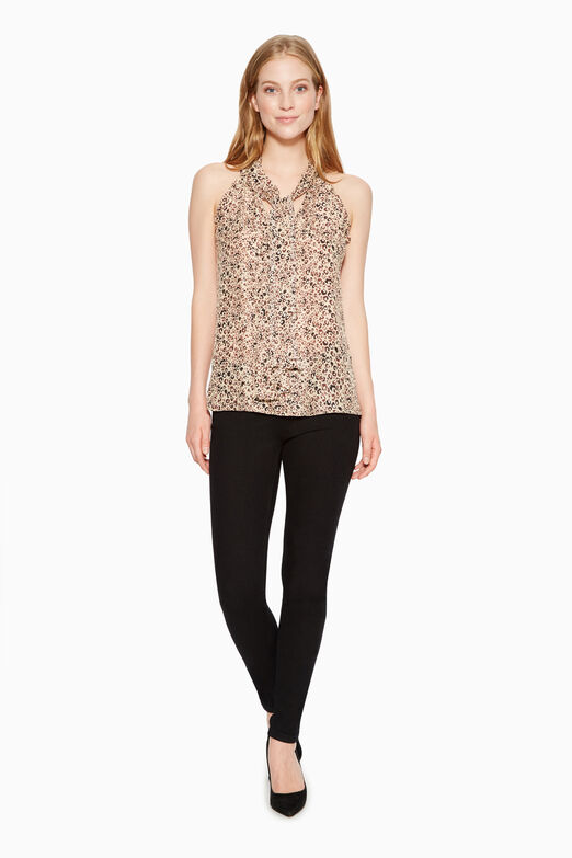 Allie Leopard Print Top