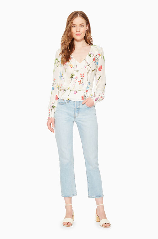 Quincy Floral Blouse
