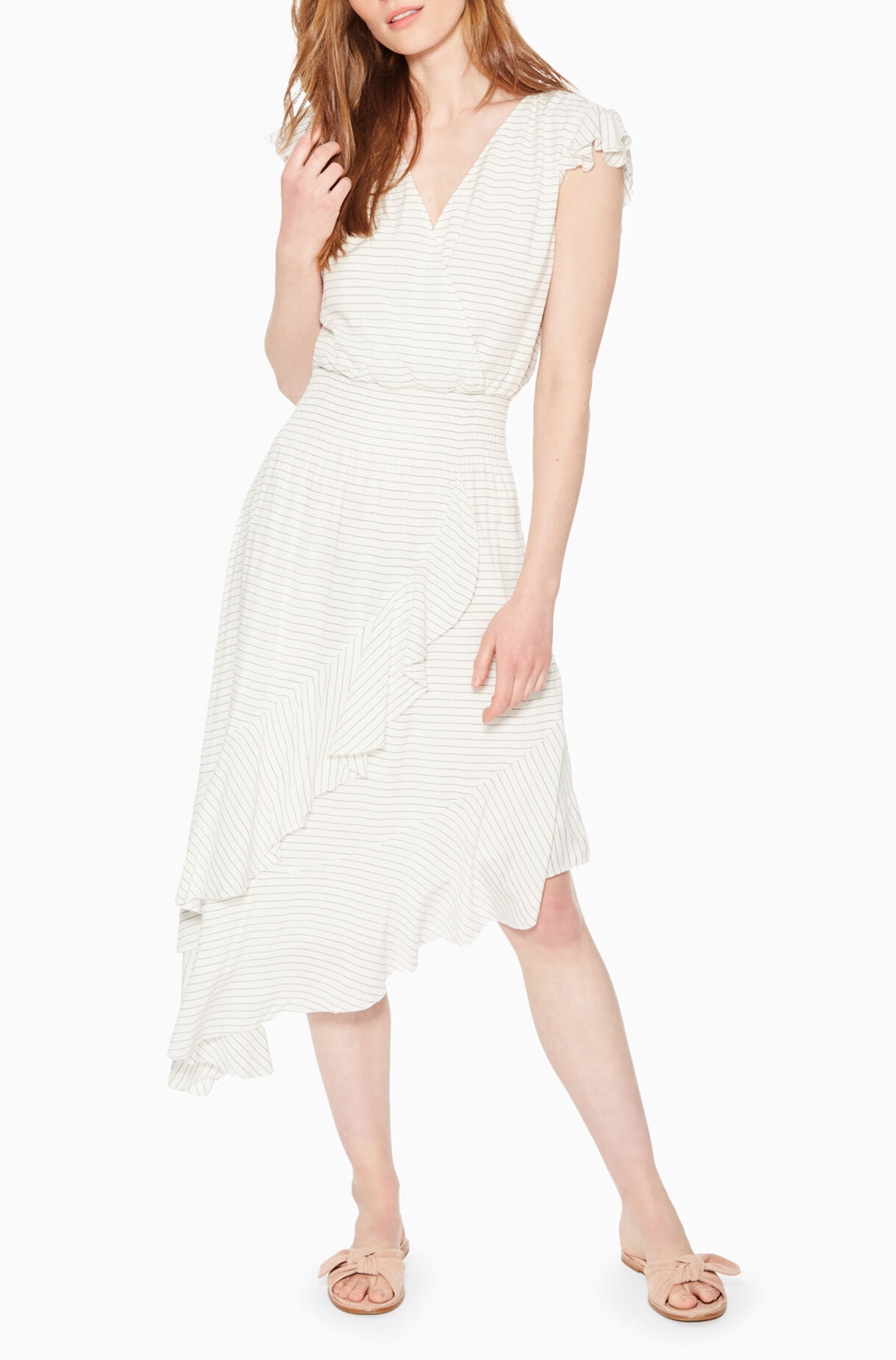 Jannie Striped Dress