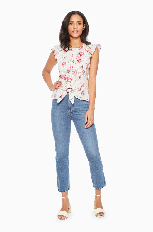 Lindy Floral Top