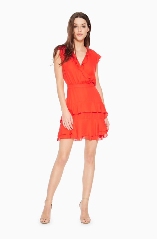 Tangia Ruffled Dress