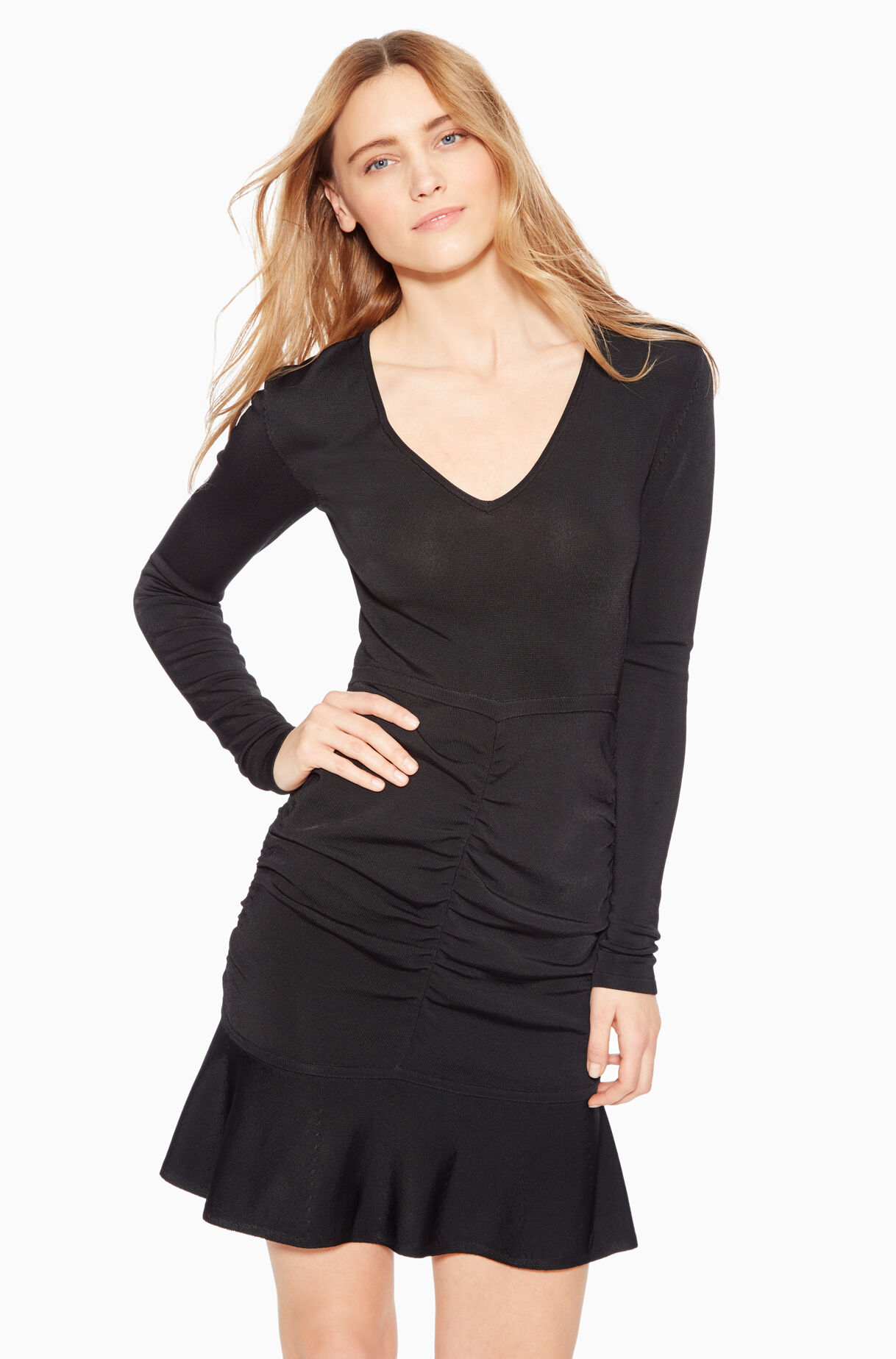 to wear - Knit Black dress pictures video