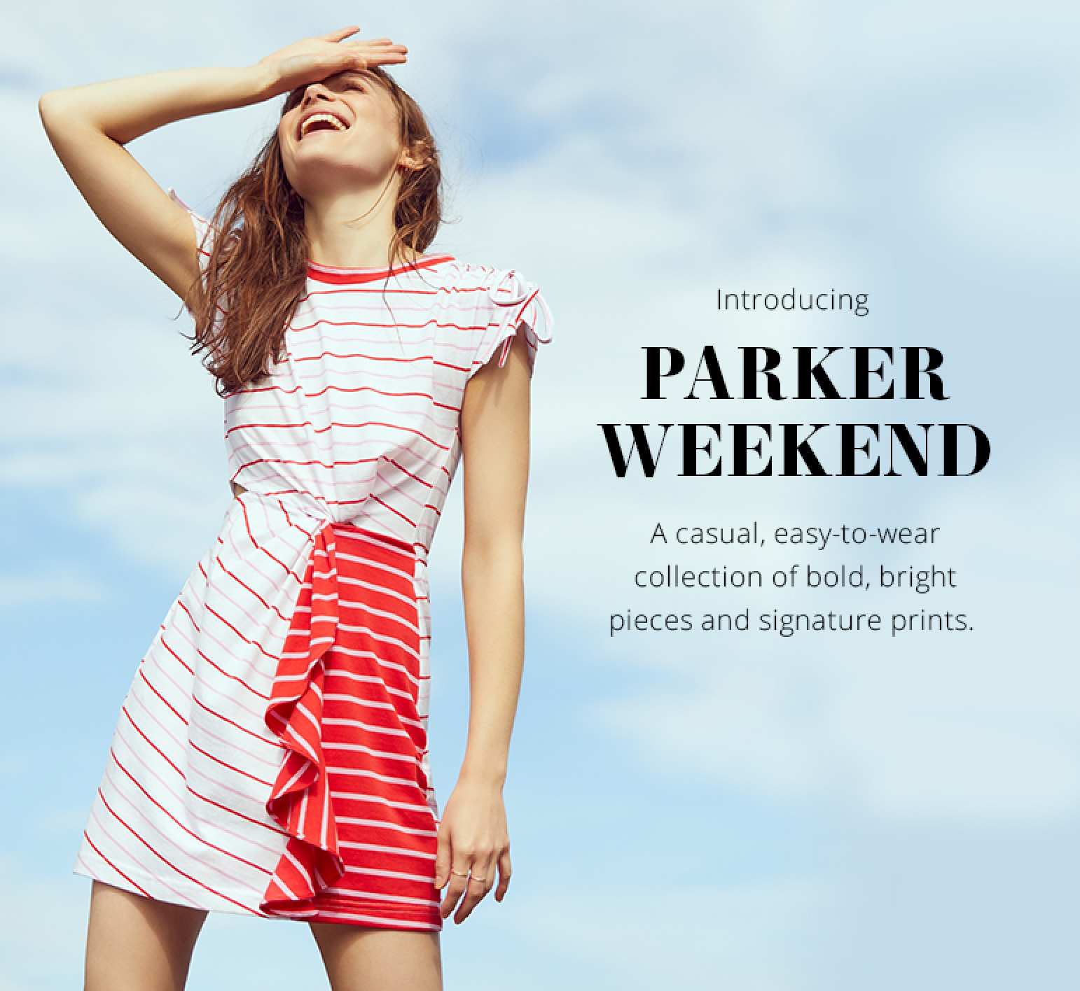 Parker Weekend Category Page Intro